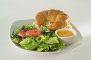Egg Salad on Croissant GJ720882